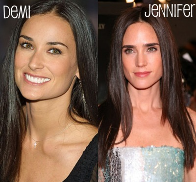 Demi Moore & Jennifer Connelly