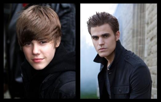 Justin Bieber & Paul Wesley