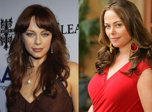 Melinda Clarke & Polly Walker