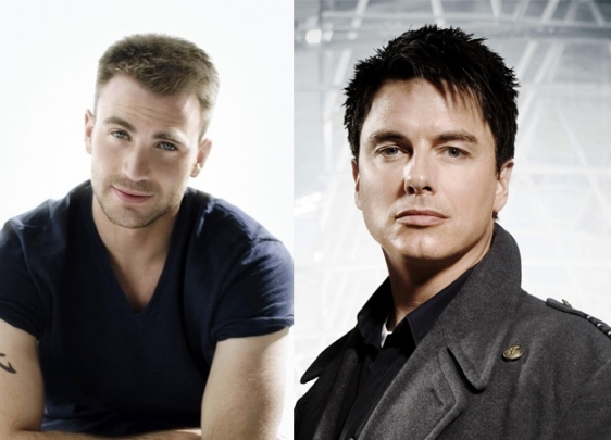 Chris Evans & John Barrowman