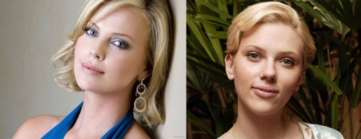 Charlize Theron & Scarlett Johansson