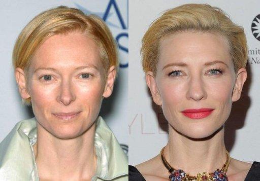 Tilda Swinton & Cate Blanchett