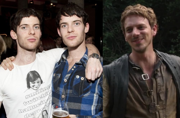 Luke & Harry Treadaway & Joe Armstrong